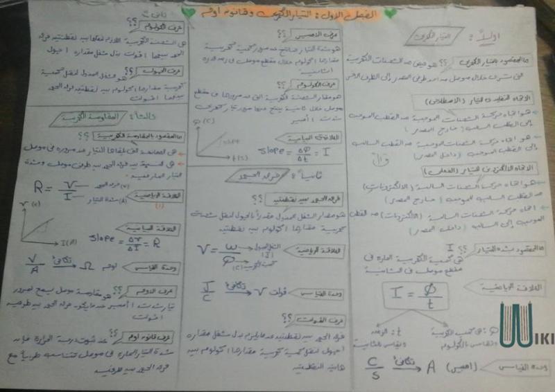 [فيزياء] الكهربية كاملة - صفحة 3 110
