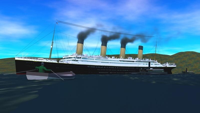 Titanic sous Blender - 21PhilC1 - Page 5 Queens10