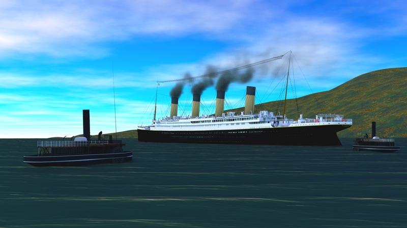 Titanic sous Blender - 21PhilC1 - Page 5 Queens11