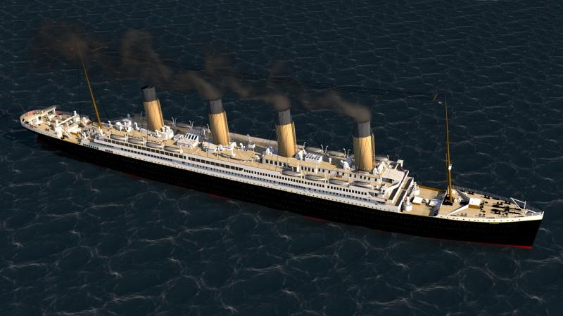 Titanic sous Blender - 21PhilC1 - Page 5 Voyage12