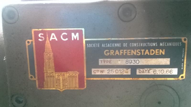 fraiseuse graffenstaden FH 124 R + tete birotative 8930 Hu_12410