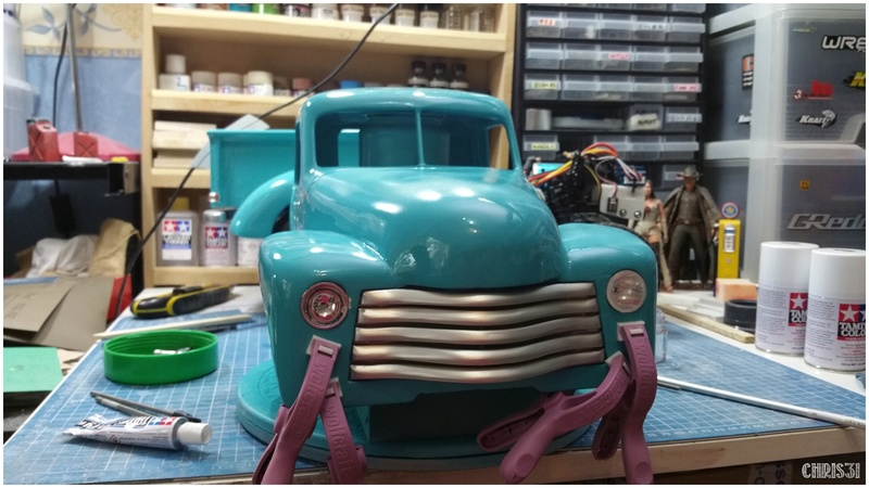Chris Customs. Chevy Truck 1950 - Page 5 20160813