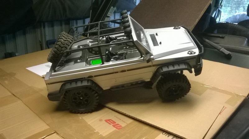 HG P402  Defender 90 pickup + remorque  Wp_20113