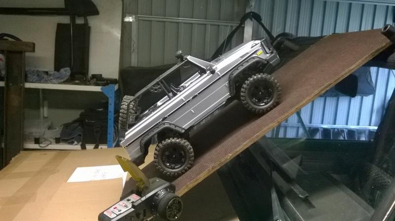 HG P402  Defender 90 pickup + remorque  Wp_20114