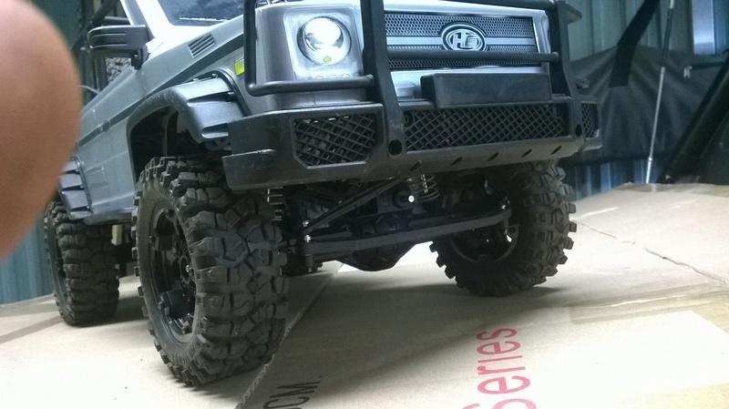 HG P402  Defender 90 pickup + remorque  Wp_20118