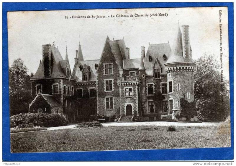 St senier de beuvron - Saint-James Manche Chassi10