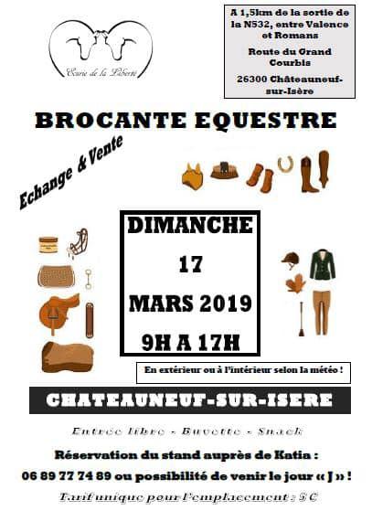 Brocante équestre - Chateauneuf/Isère 20190310