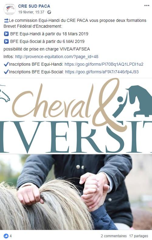 """Congrès """"Cheval et diversité"""" - Lamotte (41) - 28/29 mars 20190313"""