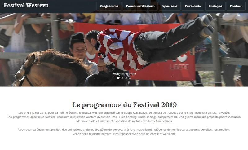 Festival Western Cavalcade - à Beauregard-Barret - 5,6&7/07/19 20190710