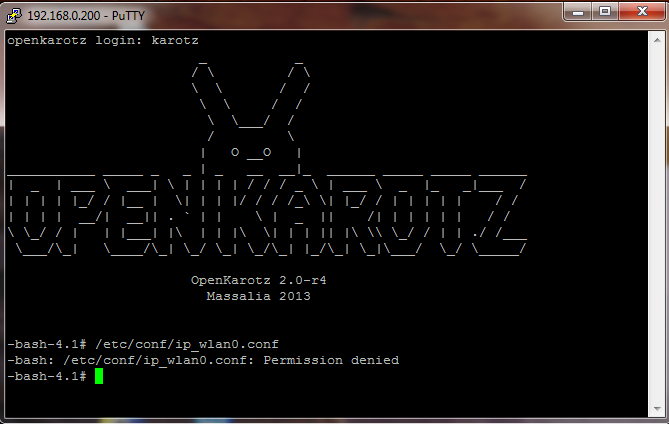 Probleme d'installation d'Open Karotz Screen11