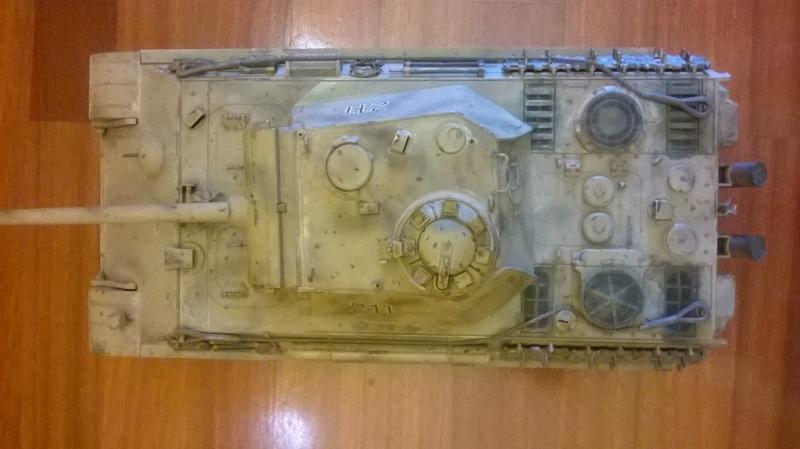 Vendo 56022 Tamiya Panther Ausf. G 1:16 full option RC Wp_20132