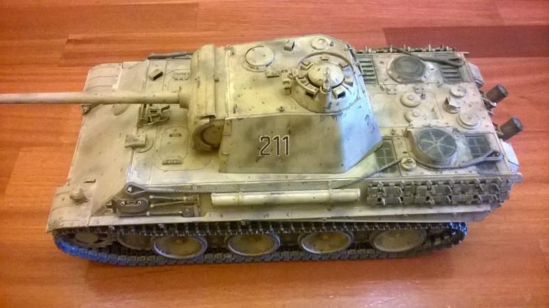 Vendo 56022 Tamiya Panther Ausf. G 1:16 full option RC Wp_20133