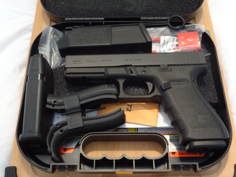 Glock 20 gen 4 (et Side by Side G22 gen 3) Dsc09715