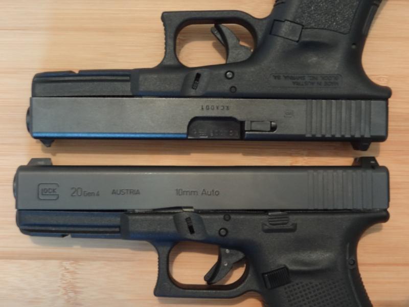 Glock 20 gen 4 (et Side by Side G22 gen 3) Dsc09815