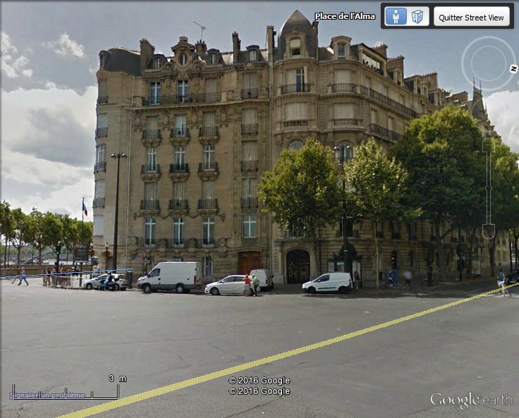 Place de l'Alma PARIS il y a 1 siécle Alma11