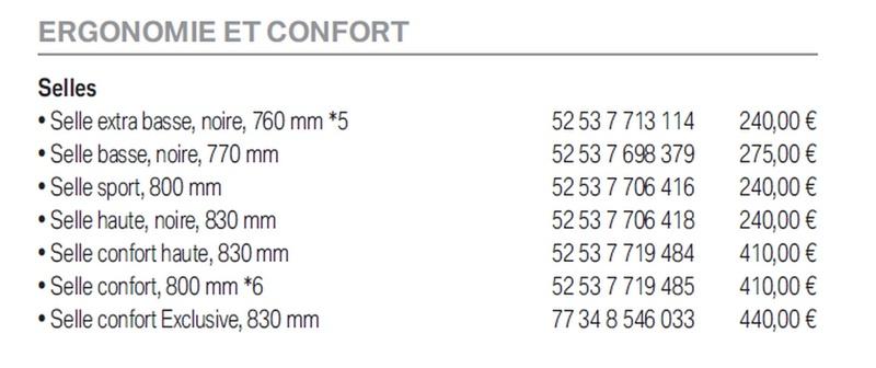 Selle Confort Haute ? Prix_b11