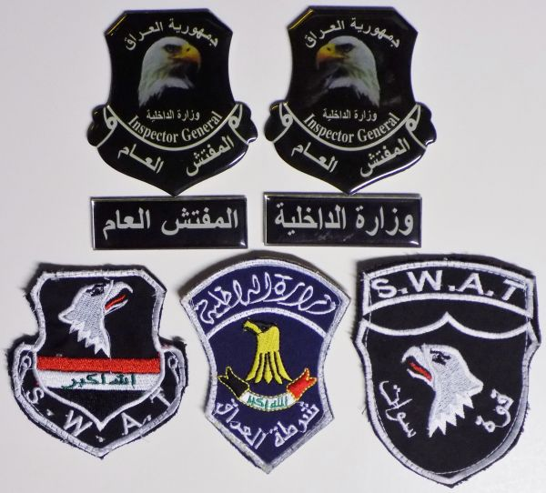 Iraqi patches Police10
