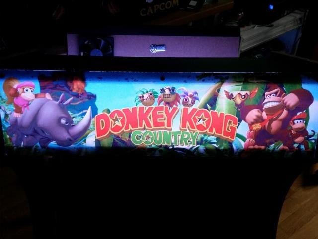 [WIP]  Mon 2eme bartop Donkey Kong 20160511