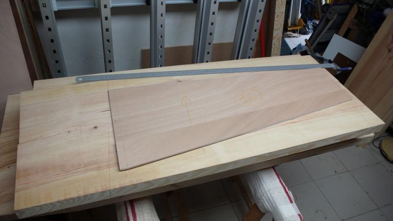 Escalier provisoire devenu définitif en pin sylvestre, à double balancements - Page 3 L1040716