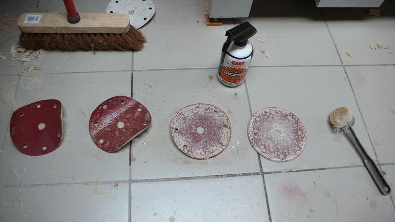 Nettoyage des abrasifs L1040784