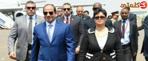 سفيرة مصر برواندا تشكر زوجها امام السيسى لعدم تقاضيه أجراً على مساعدتها  Unname10