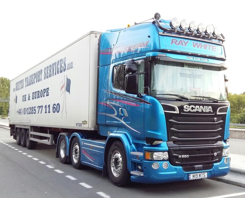 Whites Transport Services 20160727