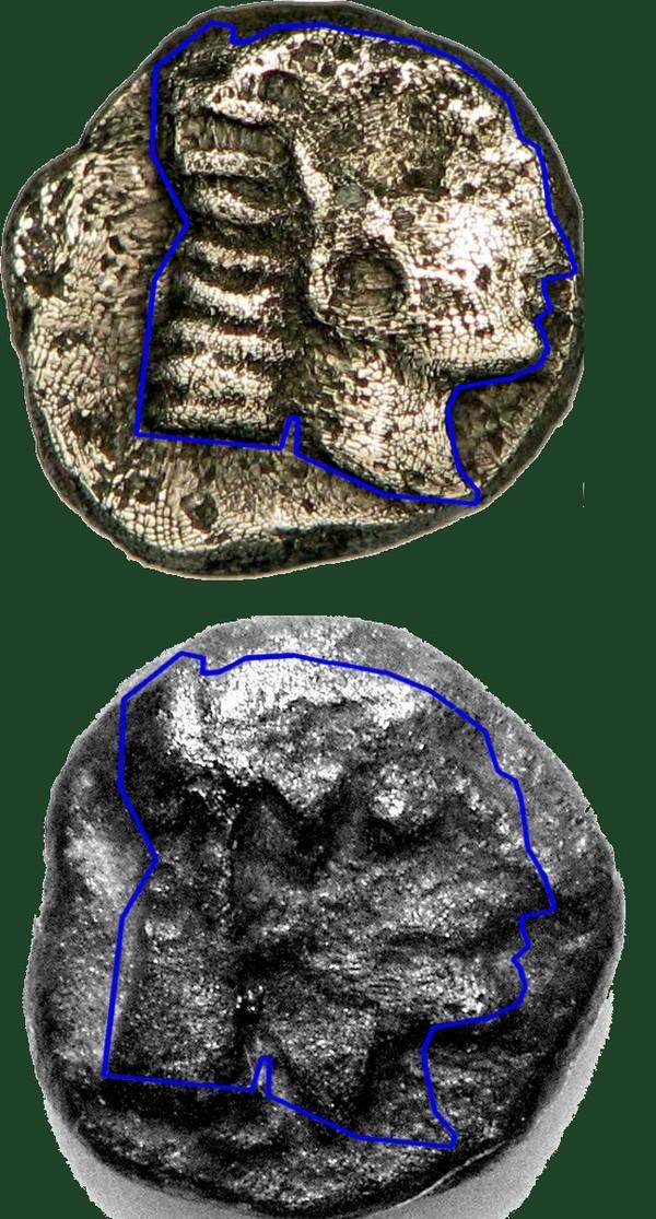 Monnaie carré creux  Artemi10