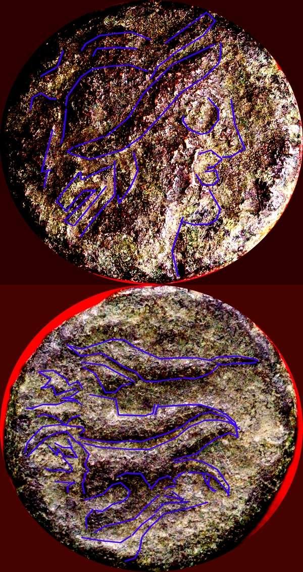 Bronze grec ? ... Bruttium, de Vibo Valentia (plus tard Hipponium) Marcus10