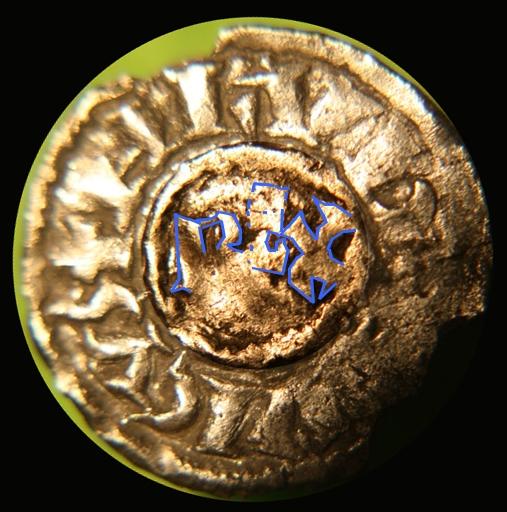 Très rare obole de Louis L'Aveugle, Roi de Provence ... Nemaus13