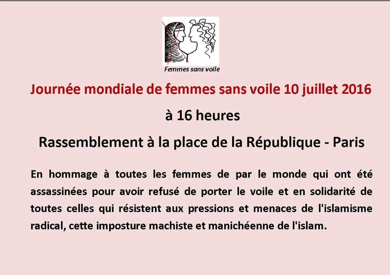Journée mondiale de femme sans voile  13483210