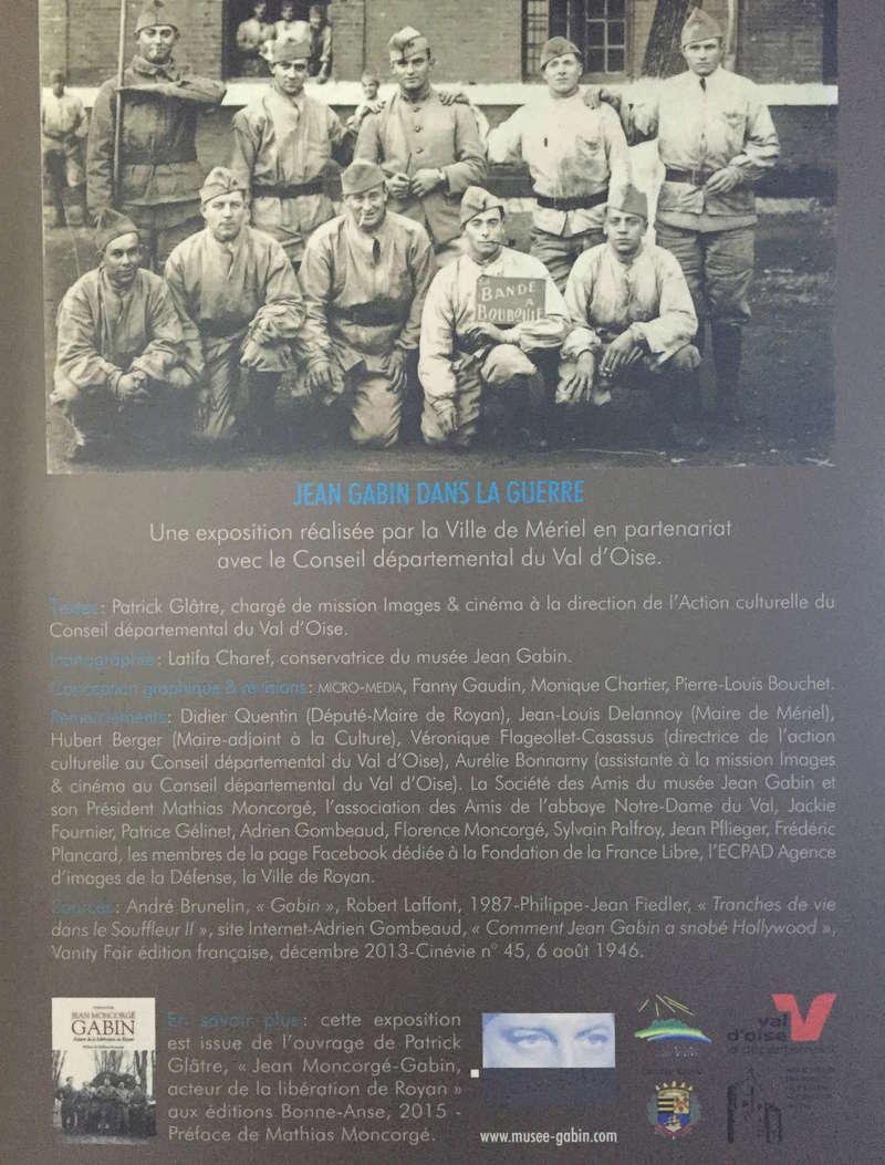 EXPOSITION • JEAN GABIN DANS LA GUERRE 1939-1945 Img_4310