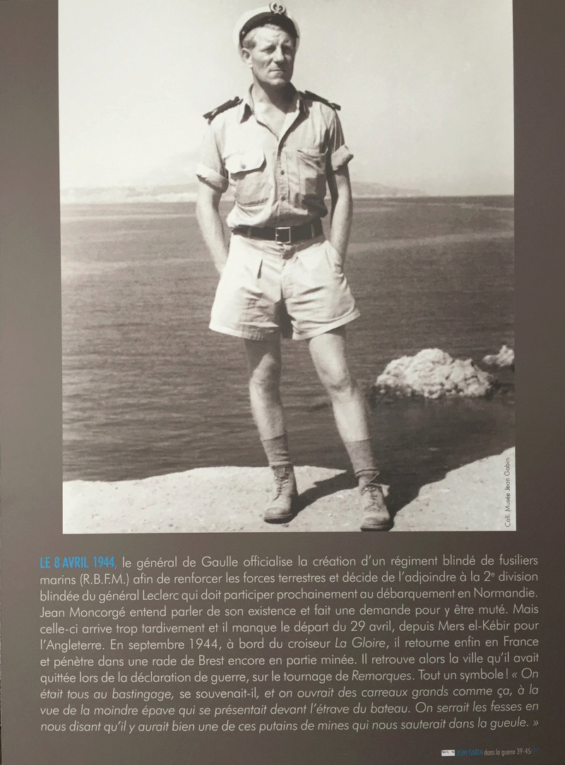 EXPOSITION • JEAN GABIN DANS LA GUERRE 1939-1945 Img_4313