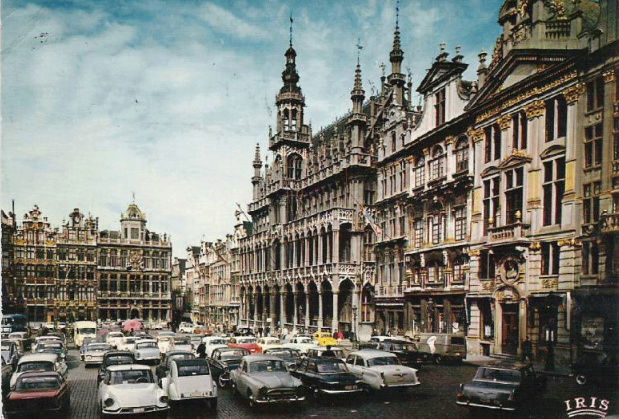 carte postale belge Belgiq10