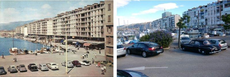 Frégate sur le Port de Toulon Avant/Après Captur12