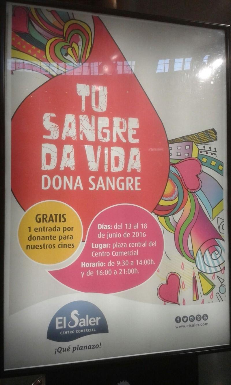 Entradas de cine gratis por donar sangre en el centro comercial El saler.  De Valencia. Del 13 al 18 de Junio 2016  Img-2010