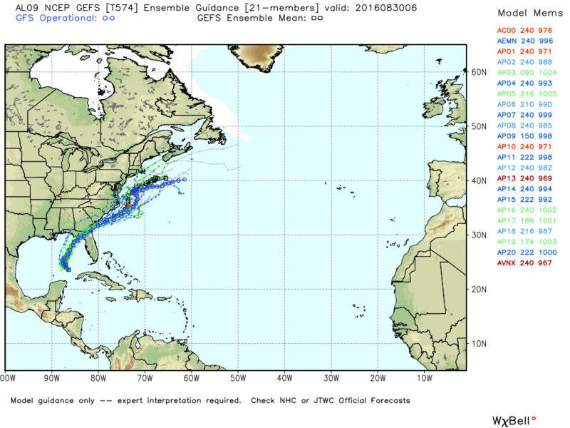 Hurricane Hermine Discussion  - Page 2 Gefs_a10