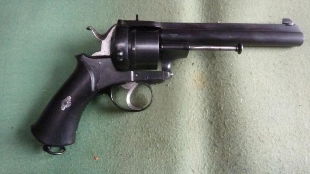 revolver  à broche 11mm St Etienne Broche11