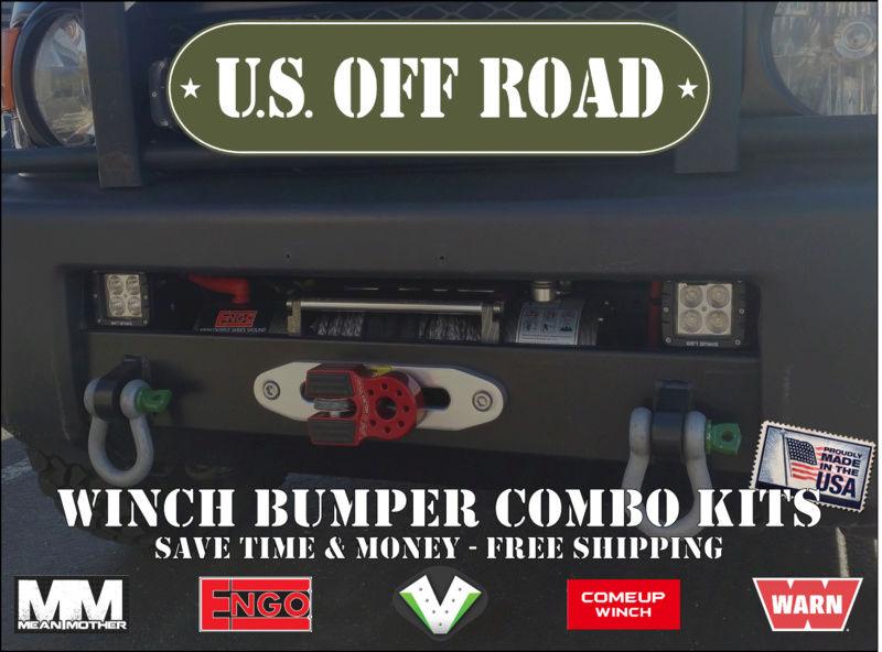 FJ Cruiser & Tacoma Winch Bumper Combo Kits Combok10
