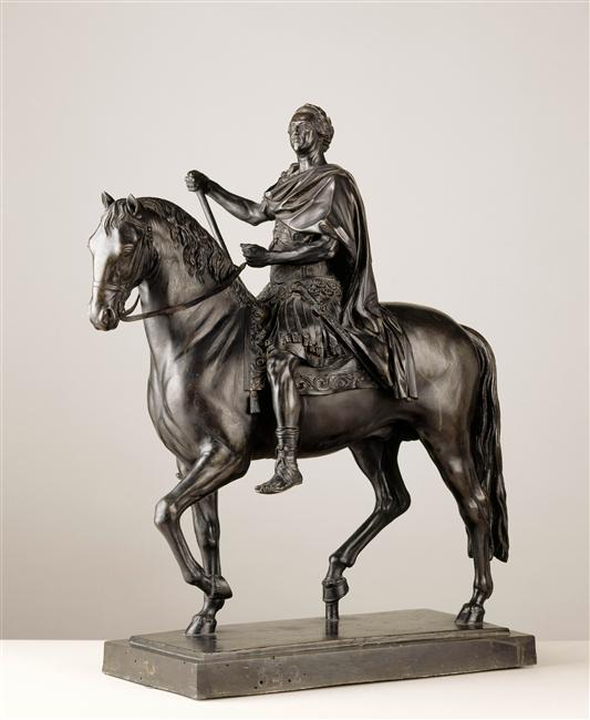 Le sculpteur Edme Bouchardon, une idée du beau. 98-01810