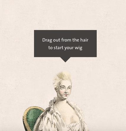 Amusement : Création d'une perruque à la mode du XVIIIè siècle Captur12