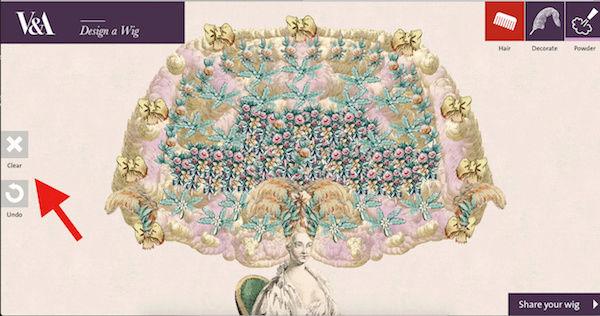 Amusement : Création d'une perruque à la mode du XVIIIè siècle Captur49