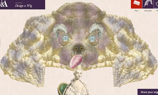 Amusement : Création d'une perruque à la mode du XVIIIè siècle - Page 3 Captur78