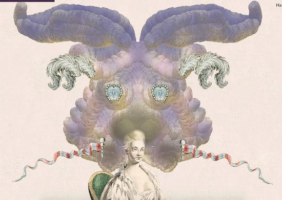Amusement : Création d'une perruque à la mode du XVIIIè siècle - Page 3 Captur79