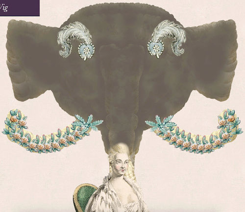 Amusement : Création d'une perruque à la mode du XVIIIè siècle - Page 3 Captur80