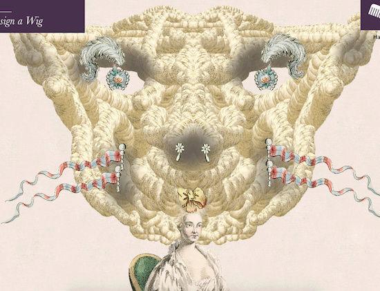 Amusement : Création d'une perruque à la mode du XVIIIè siècle - Page 3 Captur82