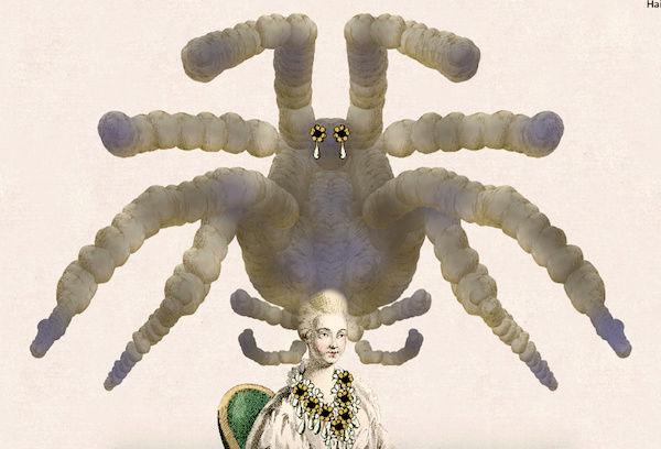 Amusement : Création d'une perruque à la mode du XVIIIè siècle - Page 3 Captur84