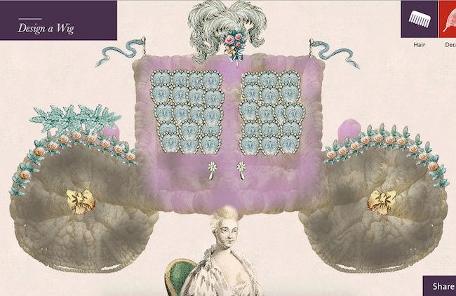 Amusement : Création d'une perruque à la mode du XVIIIè siècle - Page 3 Captur85