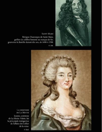 La Bastille, mystères et secrets d'une prison d'état. De Jean-Christian Petitfils Comtes11