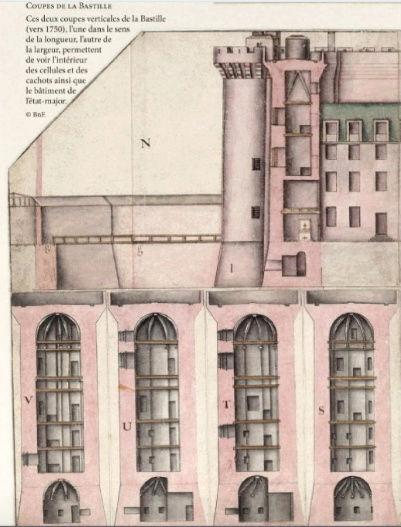 La Bastille, mystères et secrets d'une prison d'état. De Jean-Christian Petitfils Plan_b11