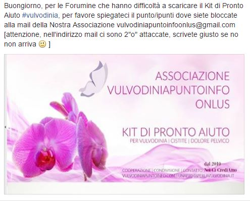 KIT PRONTO AIUTO VULVODINIA | CISTITE | DOLORE PELVICO Kit10